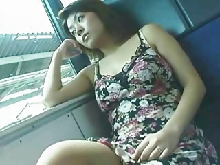 UNCENSORED Asian train grope - 1 of 15