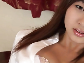 softcore asian office worker panty tease