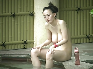 Japaness mom with saggy boobs & hairy cunt
