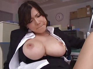 Anri Okita - At the office 1