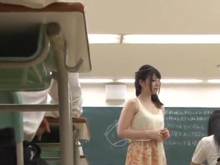 Erotic Yui Igawa has bumped inside the Classroom By Her Teacher
