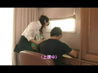 Japanese Tutor Sex Student FootJob