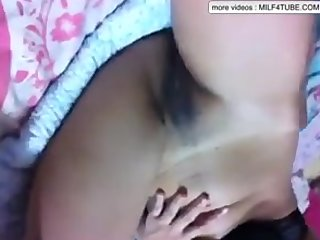 Asian Milf Masturbating