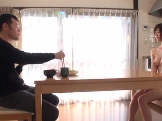 Airi Suzumura has banged By Her Husband During Breakfast