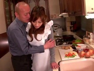 Kirara Asuka has Toyed beside the Cucumber And has got laid