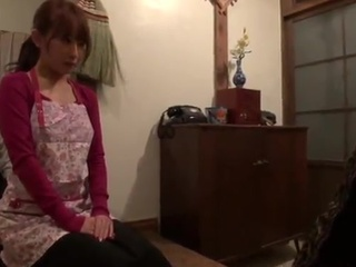 Japanese wife licks the snake And has shaged Deep