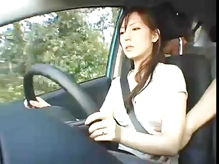 Drive a Go go! with Japanese Milf