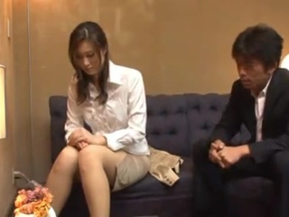 Greased Up Masseuse Arisa Miyuki Massages And licks For jizz