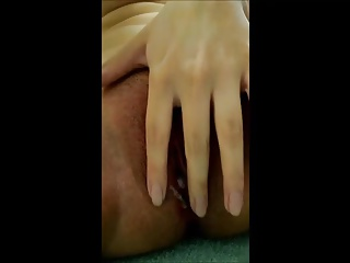 close up of asian girl fingering